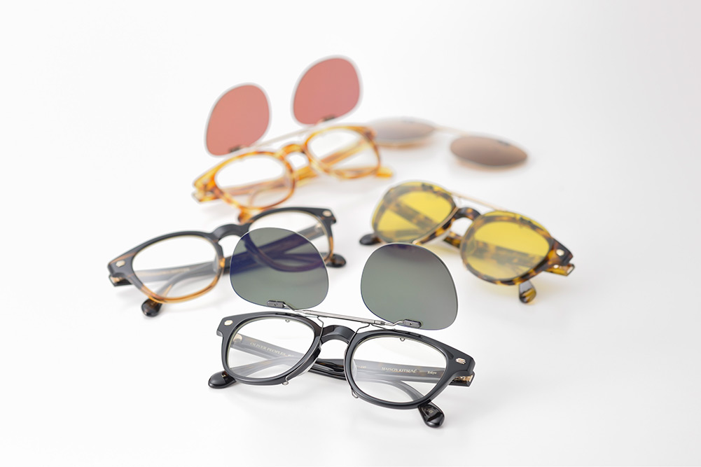 Oliver Peoples for Maison Kitsune Spring/Summer 2013 Eyewear 2