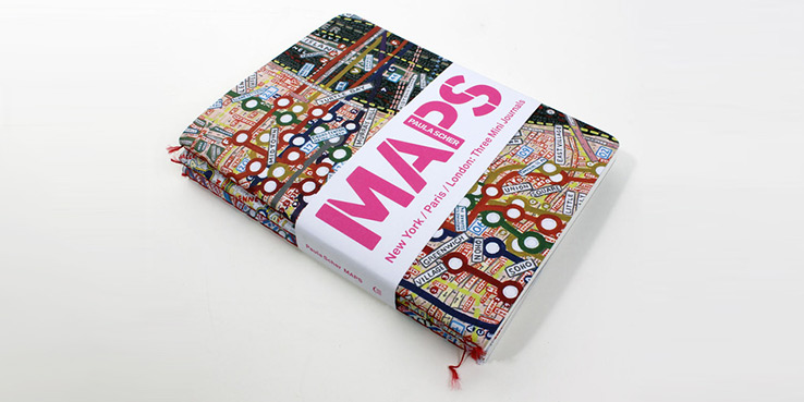 3 Maps Mini Journals Pack by Paula Scher 1