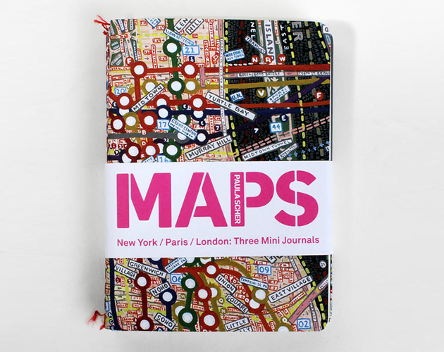 3 Maps Mini Journals Pack by Paula Scher 2