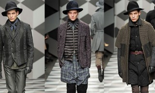 Robert Geller Fall Winter 2013 Runway