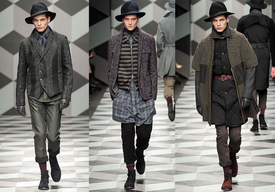 Robert Geller Fall Winter 2013 Runway 2