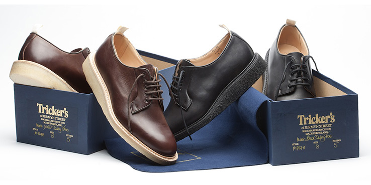 Tricker's for Norse Projects Blucher Shoes 2013 1