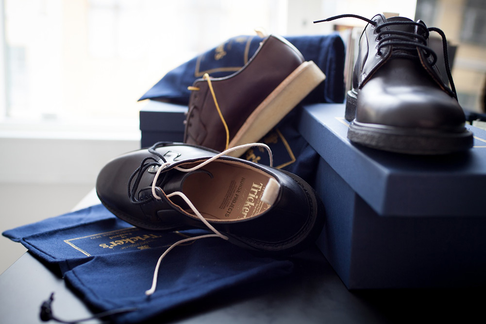 Tricker's for Norse Projects Blucher Shoes 2013 2