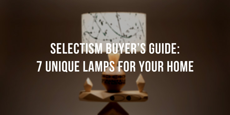 Selectism Buyer's Guide: 7 Creative Lamps for Your Home 2