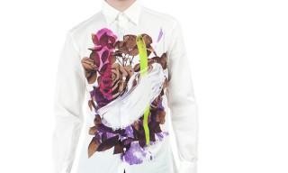 Christopher Kane Spring Summer 2013 Rose Print Shirt