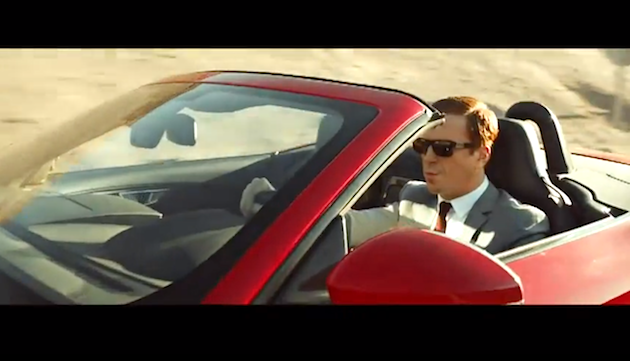 Watch | Jaguar F Type presents Desire Trailer Starring Damian Lewis   Music by Lana del Rey