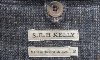 S.E.H Kelly Donegal 'Tetris' Tweed Blazer
