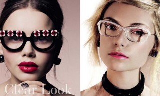 """A Clear Look"" Editorial – Vogue Italia March 2013"