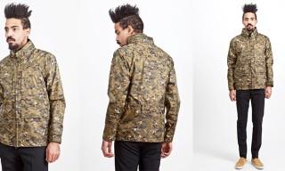 Aspesi Apecs Camouflage Jacket
