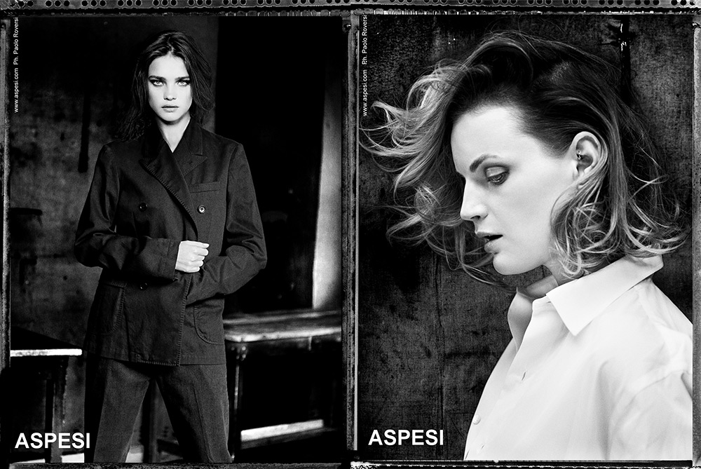 Aspesi Spring Summer 2013 Men's Collection on Beautiful Women 1