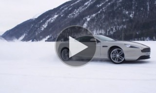 Watch | Aston Martin On Ice in St. Mortiz, Switzerland