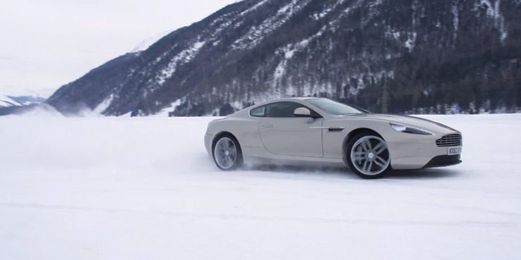 Watch | Aston Martin On Ice in St. Mortiz, Switzerland 2