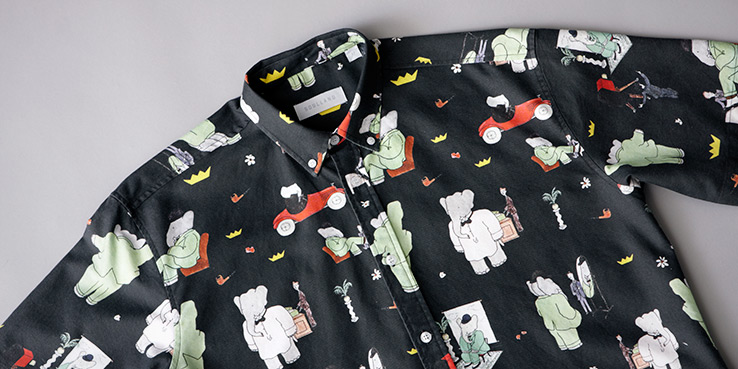 Babar the Elephant Meets Soulland Collection for 2013 1