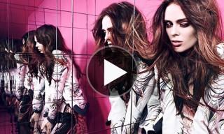 Coco Rocha in Cavalli for Hunger Magazine Issue 4