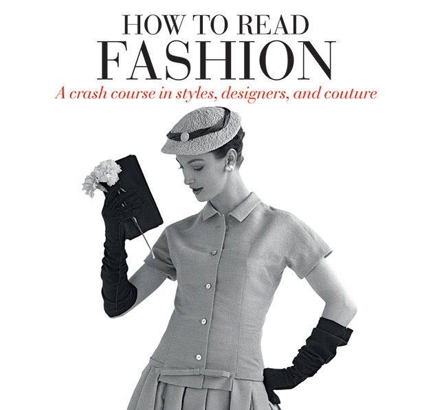 How to Read Fashion Book from Rizzoli