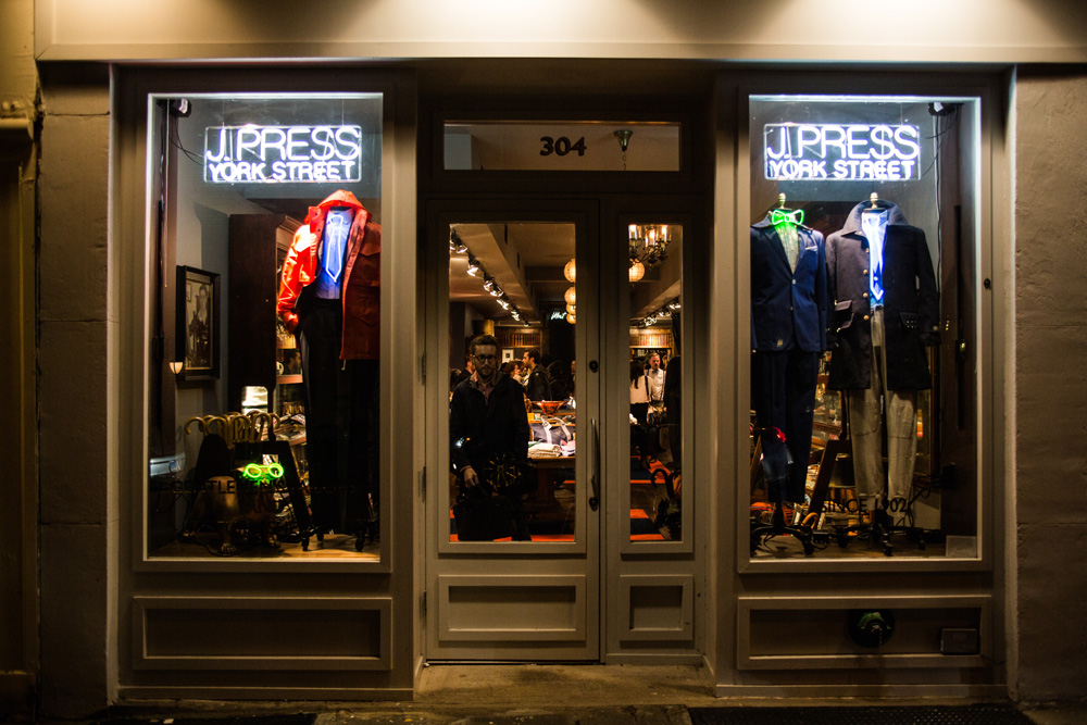 J Press York Street Store Opening NYC - 2
