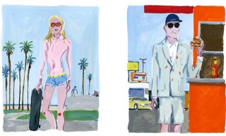 Maison Kitsuné Spring Summer 2013 – Illustrated By Jean-Philippe Delhomme