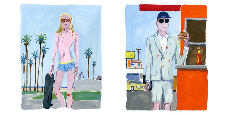 Maison Kitsuné – Spring Summer 2013 – Illustrated By Jean-Philippe Delhomme 1