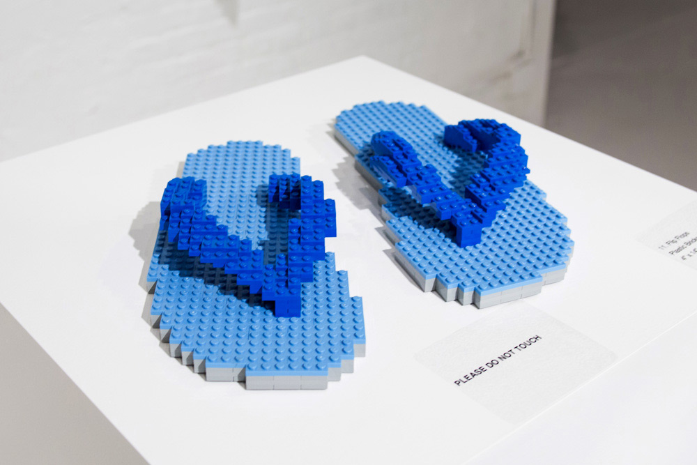 LEGO In Pieces Exhibition NYC 2