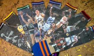 NBA Legend's Sock Collection – Ewing, Rodman, Bird and Olajuwon on Your Feet