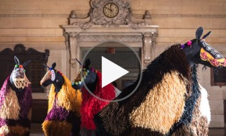 Artist Nick Cave to Fill Grand Central Station NYC with Colourful Horses