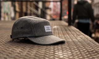 Vetted Melton Wool 5 Panel Cap