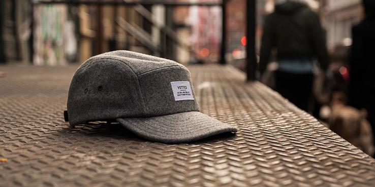 Vetted Melton Wool 5 Panel Cap | Highsnobiety