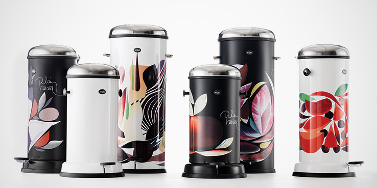 Vipp Trash Bins by French Chef, Alain Passard 2