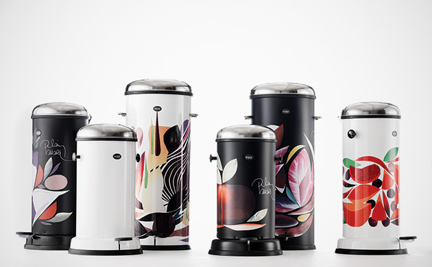 Vipp Trash Bins by French Chef, Alain Passard 1