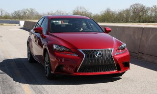 Test Driving the All-New 2014 Lexus IS Series in Austin, TX
