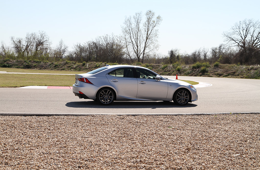 Test Driving the All-New 2014 Lexus IS Series in Austin, TX 2