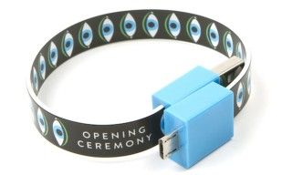 Mohzy USB Bracelets for Opening Ceremony – Transfer Data & Charge Your iPhone on the Go