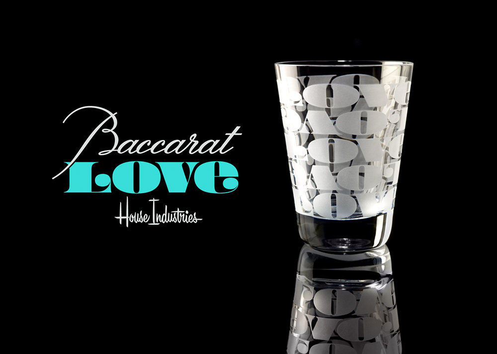 Watch | House Industries for Baccarat Roppongi   Crystal Tumbler