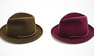 Felt Hats by Italy's Barbisio for Camo