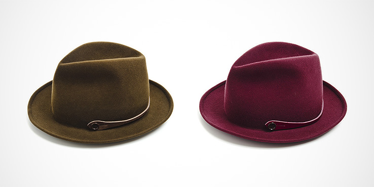 Barbisio Felt Hats for the CAMO line of Italy • Selectism 069cd771692