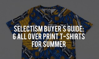 Buyer's Guide | 6 All Over Print T-Shirts for Summer