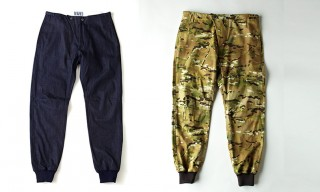 CADET Aviator Pants in Denim and Camo