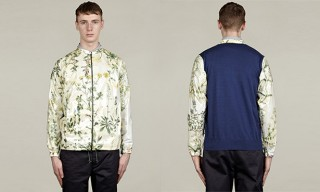 Carven Botanical Herbs Print Pattern Jacket