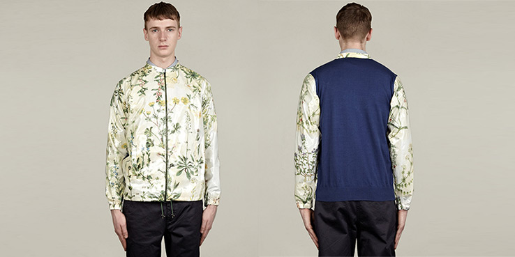 Carven Botanical Herbs Print Pattern Jacket 2