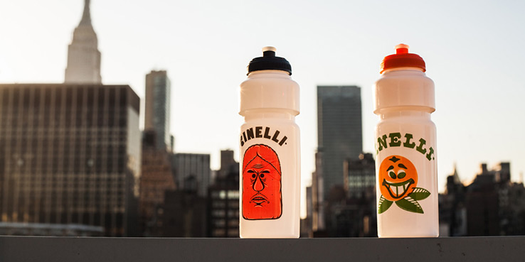 "Cinelli Water Bottles for Barry McGee ""Drawing from the Street"" Exhibition - ICA Boston 1"