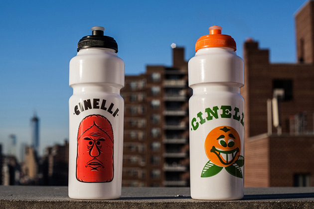 "Cinelli Water Bottles for Barry McGee ""Drawing from the Street"" Exhibition - ICA Boston 2"