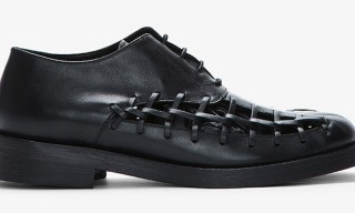 Damir Doma Laced-Up Feter Oxford Shoes