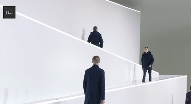 Watch Dior Homme Fall Winter 2013 in Beijing Featuring 3 New Looks 1