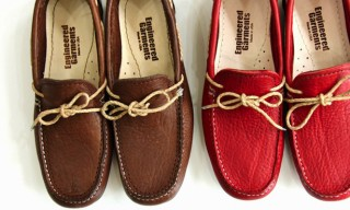 Engineered Garments Buffalo Leather Moccasin