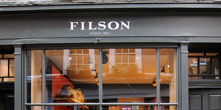 Filson London Store Opens 1