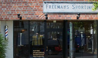 Look Inside Freemans Sporting Club Tokyo Flagship Store