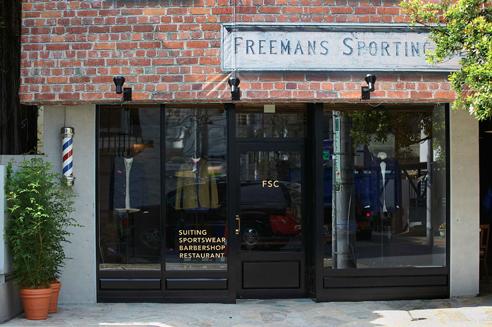 Look Inside Freemans Sporting Club Tokyo Flagship 2