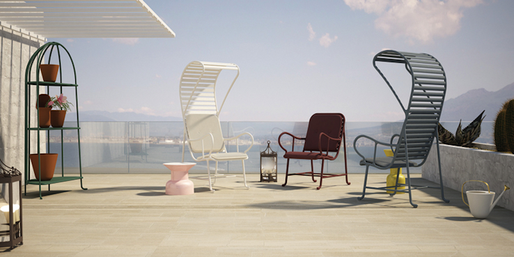 Gardenias Outdoor Furniture - Jaime Hayon for BD barcelona