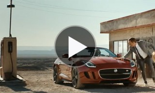 Watch The Full Jaguar F-Type 'Desire' Film by Ridley Scott Associates