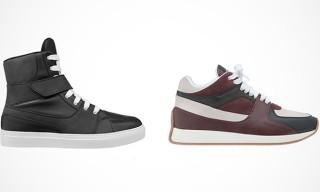 KRISVANASSCHE Fall Winter 2013 Footwear